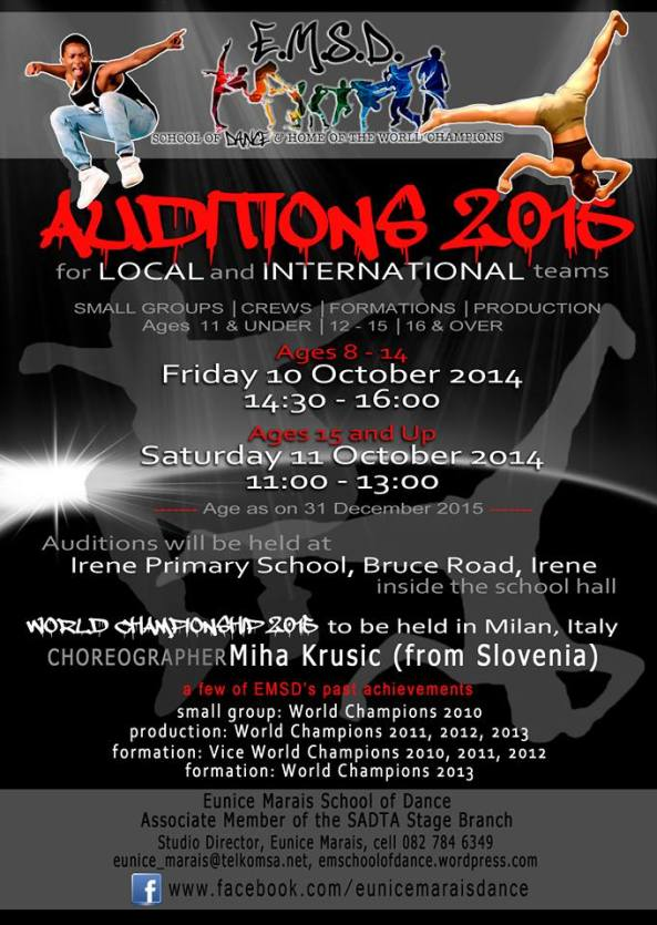 EMSD Auditions